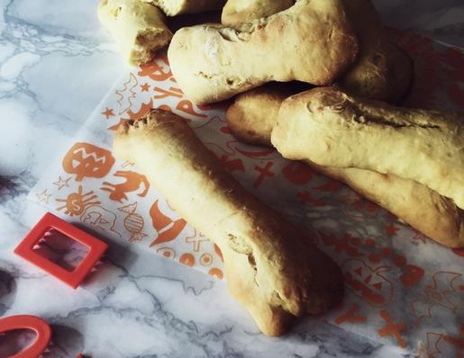 biscotti di Halloween: ossa di morto siciliani