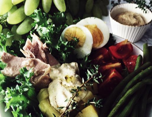 l'insalata nizzarda: la ricetta originale