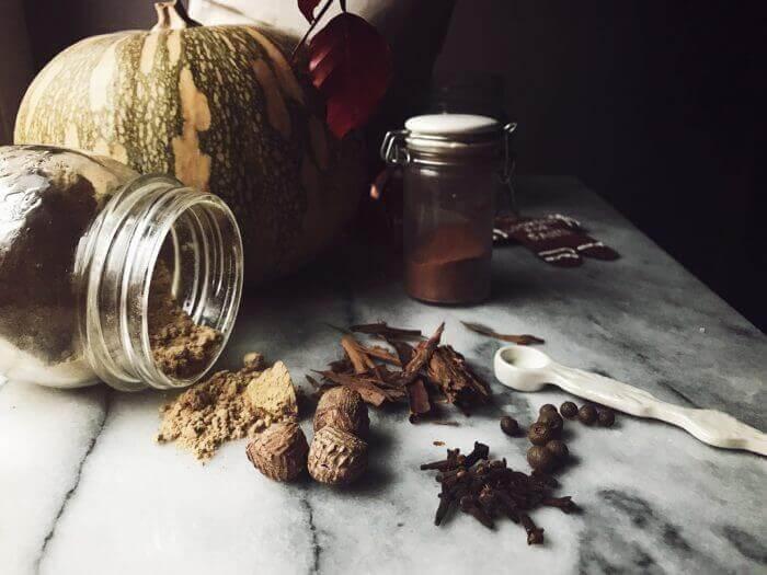 pumpkin pie spice mix ricetta #gourmetproject #ricettedolci