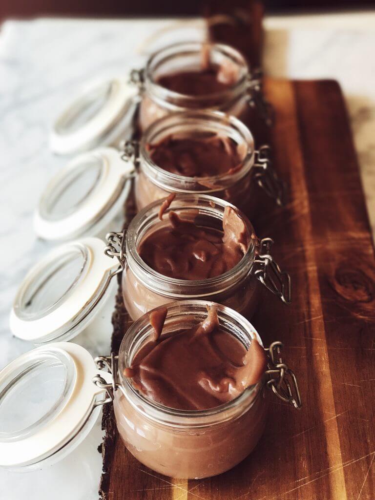 Budino al cioccolato fatto in casa con uova e cioccolato fondente #gourmetproject #ricettedolci